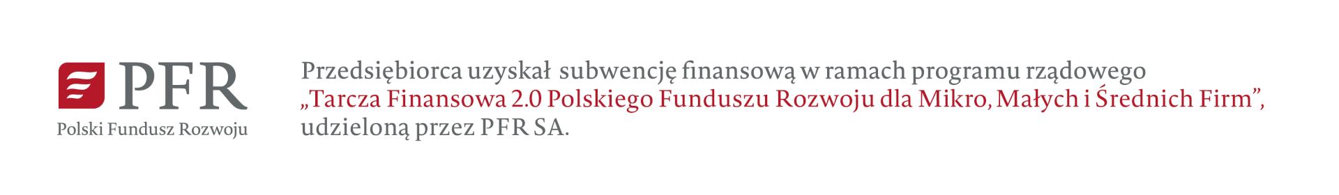 Przedsiębiorca uzyskał subwencję finansową w ramach programu rządowego